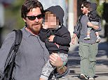 Picture Shows: Christian Bale, Joseph Bale  February 02, 2016    'The Dark Knight' actor Christian Bale and his son Joseph were spotted out spending time together in Santa Monica, California.     Reviews are extremely positive for the upcoming art film starring Christian: 'Knight of Cups'.    Exclusive - All Round  UK RIGHTS ONLY    Pictures by : FameFlynet UK © 2016  Tel : +44 (0)20 3551 5049  Email : info@fameflynet.uk.com