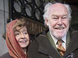 02.02.16 The Oldie Awards Lunch at Simpsons Resturant The Strand, London Timothy West and his wife Prunella Scales