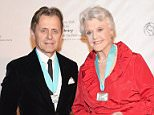 NEW YORK, NY - FEBRUARY 01:  Event honorees Mikhail Baryshnikov and Angela Lansbury attend the New York Public Library For The Performing Arts' 50th Anniversary gala at The New York Public Library - Stephen A. Schwarzman Building on February 1, 2016 in New York City.  (Photo by Gary Gershoff/WireImage)