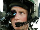 CAMP BASTION, AFGHANISTAN - DECEMBER 12:  In this image released on January 21, 2013, Prince Harry, wears his monocle gun sight as he sits in the front seat of his cockpit at the British controlled flight-line at Camp Bastion on December 12, 2012 in Afghanistan. Prince Harry has served as an Apache Helicopter Pilot/Gunner with 662 Sqd Army Air Corps, from September 2012 for four months until January 2013.  (Photo by John Stillwell - WPA Pool/Getty Images)