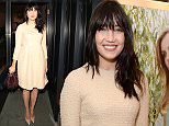LONDON, ENGLAND - FEBRUARY 03:  Daisy Lowe attending the J&M Davidson Mount Street store launch on February 3, 2016 in London, England.  (Photo by Mark Robert Milan/GC Images)