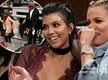 Kocktails with Khloe February , 2016 \nSean ¿Puffy¿ Combs, Kourtney Kardashian, Kylie Jenner, Nicole ¿Snookie¿ Polizzi, and Ru are the guests.\nKhloe Kardashian invites celebrity guests into her kitchen for a lively dinner party.\n