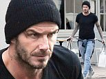 Picture Shows: David Beckham  February 02, 2016  ** Min Web / Online Fee £300 For Set **    ** Min £200 per picture for magazines **   David Beckham seen buying luxury Diptyque candles for his wife Victoria and sweet treats for his children in West London, England, UK.    David Beckham maintained a stern expression while running his errands. Perhaps because his £549.99 spent will go up in smoke with his purchase of Diptyque luxury candles for the new house, which is currently being decorated.  ** Min Web / Online Fee £300 For Set **    ** Min £200 per picture for magazines **   Exclusive  WORLDWIDE RIGHTS    Pictures by : FameFlynet UK © 2016  Tel : +44 (0)20 3551 5049  Email : info@fameflynet.uk.com