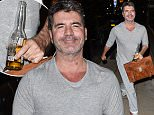 4 Feb 2016 - Birmingham - UK  Simon Cowell arrives in Birmingham in his pyjamas and with a beer in hand ahead of Britain's Got Talent auditions!  BYLINE MUST READ : XPOSUREPHOTOS.COM  ***UK CLIENTS - PICTURES CONTAINING CHILDREN PLEASE PIXELATE FACE PRIOR TO PUBLICATION ***  **UK CLIENTS MUST CALL PRIOR TO TV OR ONLINE USAGE PLEASE TELEPHONE   44 208 344 2007 **