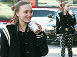 EXCLUSIVE: Lily-Rose Depp, the daughter of Johnny Depp and Vanessa Paradis, who is breaking into the fashion and acting worlds was spotted with her usual chauffeur/bodyguard and a mystery young male companion at a supermarket in Los Angeles.  Pictured: Lily-Rose Depp Ref: SPL1218183  030216   EXCLUSIVE Picture by: JLM / Splash News  Splash News and Pictures Los Angeles: 310-821-2666 New York: 212-619-2666 London: 870-934-2666 photodesk@splashnews.com