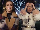 """Grabs from the new music video for the song """"Secret Love Song"""" by Little Mix which features Jason Derulo"""