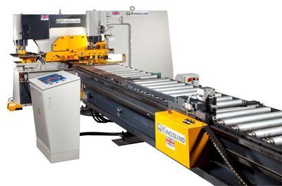 CNC Punch Cutting line for flat bar