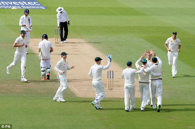 Australia's celebrations are muted as victory in this Test couldn't make up for the fact they lost the series