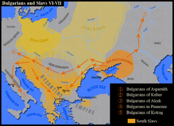 Bulgarians and Slavs VI-VII century.png