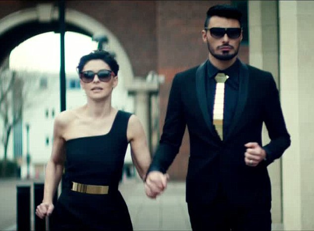 They're back: Emma Willis and Rylan Clark return in a teaser advert for the 2015 summer series