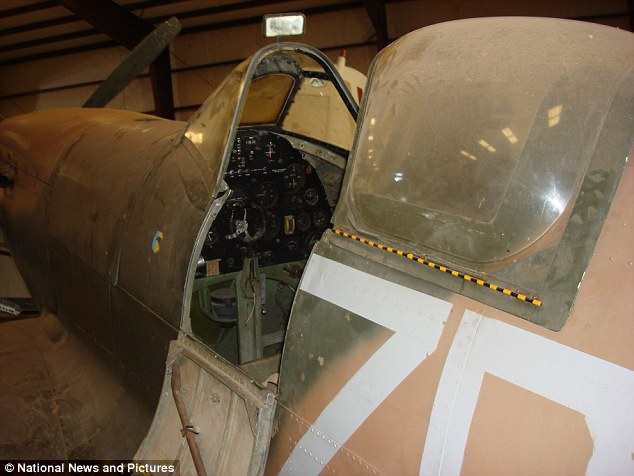 Fully restored, and in flying condition the aircraft could be worth as much as £4 million to the right buyer