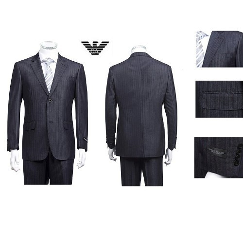 Wholesale High Quality Emporio Armani Suits Factory Outlet 1006 ( Smuk )