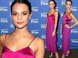 SANTA BARBARA, CA - FEBRUARY 06:  Actress Alicia Vikander attends the Virtuosos Award at the Arlington Theater at the 31th Santa Barbara International Film Festival on February 6, 2016 in Santa Barbara, California.  (Photo by Rebecca Sapp/Getty Images for Santa Barbara International Film Festival)