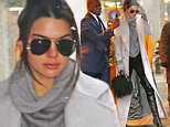 02/05/2016\nEXCLUSIVE: Kendall Jenner is spotted heading out in the snow in Manhattan without makeup. The super model was recently on the receiving end ex Harry Styles cheeky twitter comments regards her sex ultimatum toward the pop star. Kendall was sporting shades and carrying a Fringe designer bag as she stepped out into a chilly New York City.\nbyline:TheImageDirect.com\n