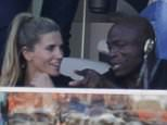 EXCLUSIVE: Musician Seal and a women in the stands at Super Bowl 50.  Pictured: Seal Ref: SPL1222745  070216   EXCLUSIVE Picture by: Splash News  Splash News and Pictures Los Angeles: 310-821-2666 New York: 212-619-2666 London: 870-934-2666 photodesk@splashnews.com