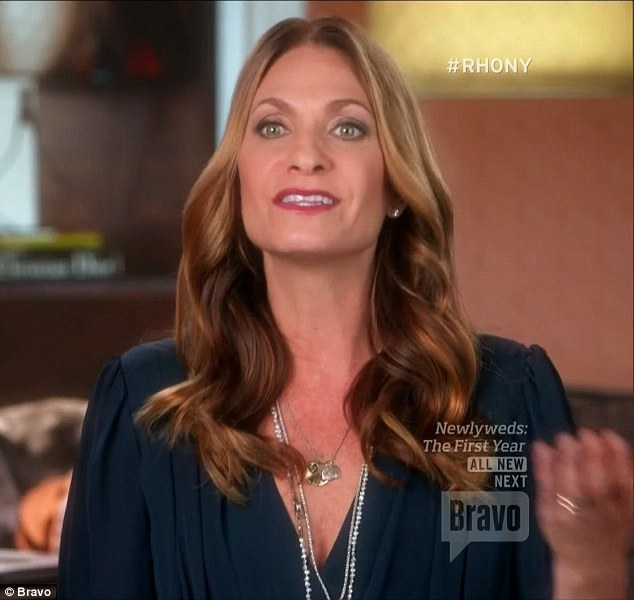 Also bothered: Heather Thomson also felt that Bethenny should've invited her