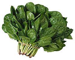 spinach: