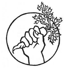 vegan logo: