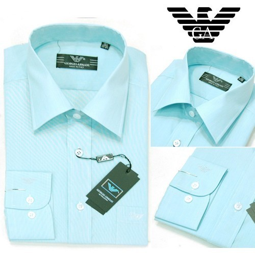Most Wanted Armani Dress Shirts For Gifts 1041 ( Salg )