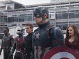 Still from the trailer of Captain America: Civil War