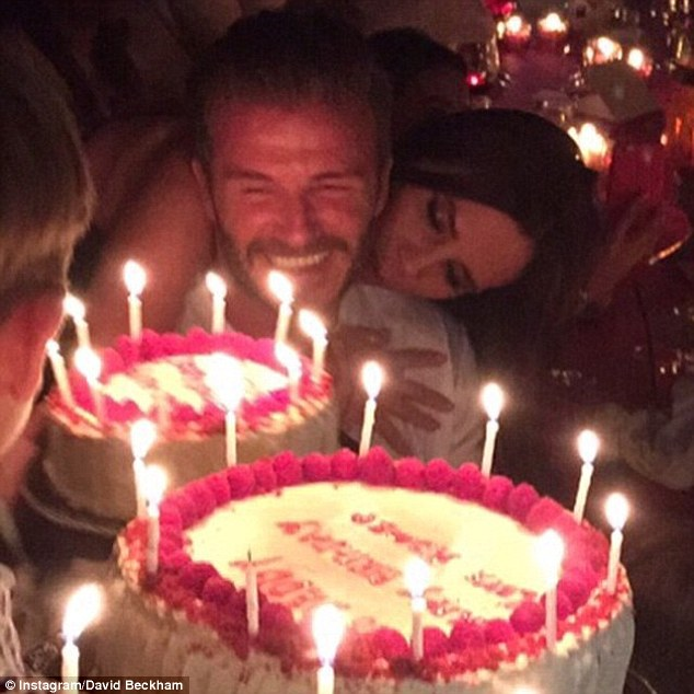 Happy birthday to you!David Beckham posted a special thank you to his doting wife, Victoria, as he enjoyed a relaxing Monday morning after his 40th birthday party in Marrakech on Saturday night