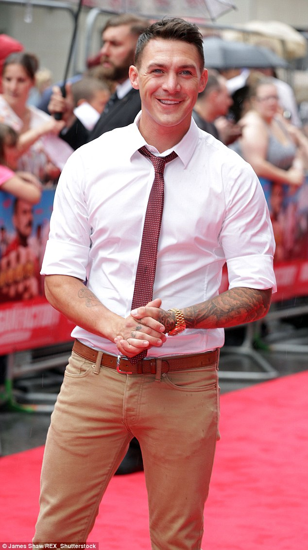 Off you go: Kirk Norcross has reportedly been booted off Ex On The Beach for 'aggressive behaviour'
