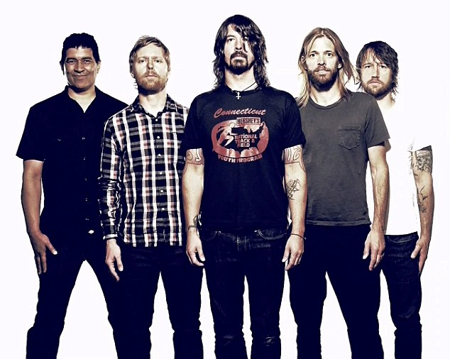 Friday night fun! Foo fighters will take to the Pyramid Stage at Glastonbury on Friday night