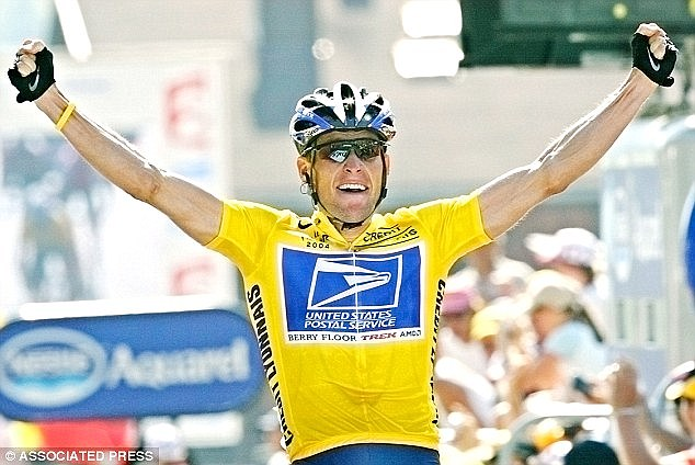 The disgraced cyclistwas stripped of his seven Tour de France titles and banned for life from racing in 2012