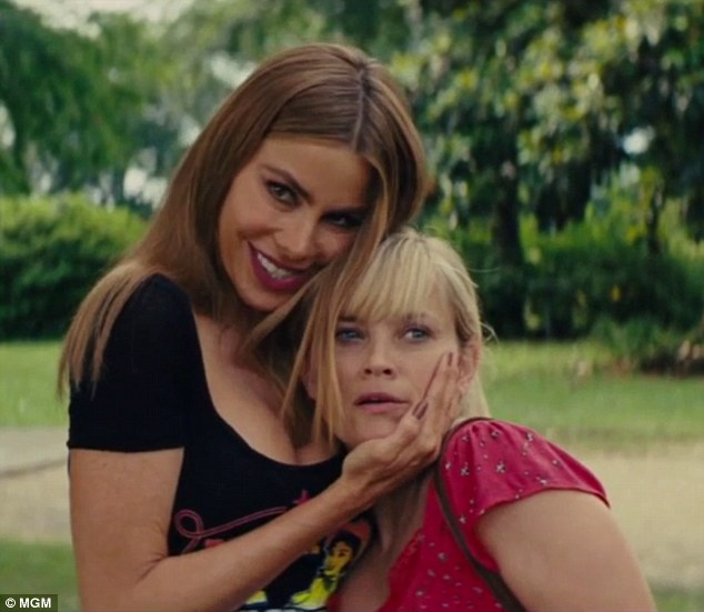 Buddy comedy: And Vergara teamed up with Reese Witherspoon for the road comedy Hot Pursuit, which hits US theatres on Friday and UK theaters July 31