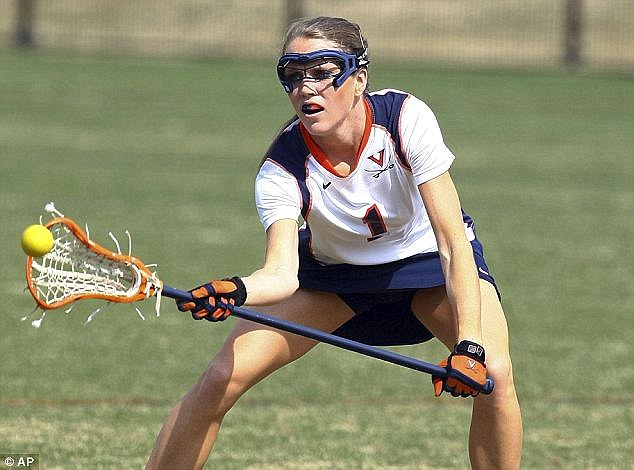 Gifted: UVA lacrosse player and government major Yeardley Love was murdered by her fellow lacrosse player George Huguely. Both 22, he forced himself into her bedroom. smashed her head and left her to die.