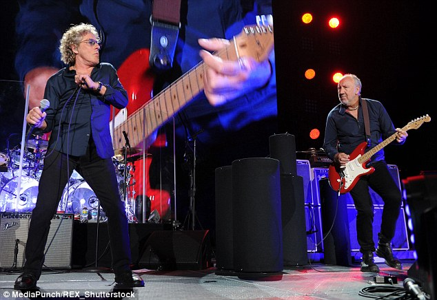 Rocking out!The Who have been confirmed as the final headline act of Glastonbury 2015, and will close the annual music festival in Pilton, Somerset, on Sunday night