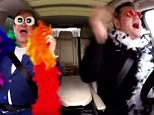 """In this extended version for the web, James Corden asks Elton John to help him navigate Los Angeles on a rainy day while the two sing some of his songs, including a Lion King classic and """"Don't Let the Sun Go Down On Me."""""""