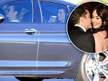 After getting caught flirting at the Golden Globes, Katy Perry and Orlando Bloom are officially dating! The couple is spotted here leaving Robert Downey Jr's party in Malibu, CA. Orlando Bloom looks like a happy guy as he tries to sneak away with Katy in the back seat! X17online.com February 6, 2016.