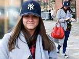 Brooke Vincent seen leaving Key 103 radio station after co-hosting the Breakfast show with Mike Toolan whilst Chelsea Norris is on leave.  Pictured: Brooke Vincent Ref: SPL1221252  090216   Picture by: Austin/Splash News  Splash News and Pictures Los Angeles: 310-821-2666 New York: 212-619-2666 London: 870-934-2666 photodesk@splashnews.com
