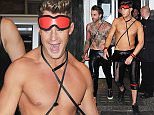 9 FEB 2016  - NEWCASTLE  - UK *** EXCLUSIVE ALLROUND PICTURES - STRICTLY AVAILABLE FOR UK NEWSPAPERS*** SCOTTY T GEORDIE SHORE CAST MEMBERS ATTEND BONDAGE THEMED NIGHT WHILE FILMING 'GEORDIE SHORE' 5 YEAR SPECIAL AT MADAME KOO'S IN THEIR HOMETOWN OF NEWCASTLE. BYLINE MUST READ : XPOSUREPHOTOS.COM ***UK CLIENTS - PICTURES CONTAINING CHILDREN PLEASE PIXELATE FACE PRIOR TO PUBLICATION*** **UK CLIENTS MUST CALL PRIOR TO TV OR ONLINE USAGE PLEASE TELEPHONE  442083442007**