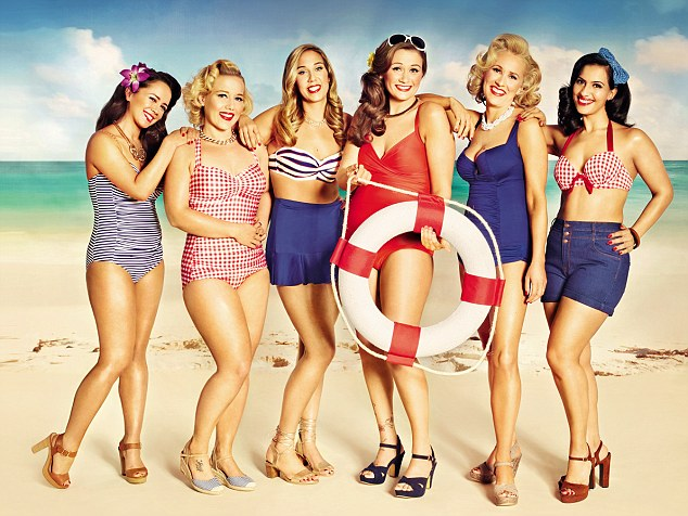 A year ago, none of the women involved (L-R) Elizabeth Willcox, Sammi Dagger, Alisha Sylvester, Ruth Ellis, Lucy Phillips and Sophie Virdi, would have dared to bare it for the cameras, nor did they think they'd ever wear a swimming costume. As they prove themselves wrong, five of them tell FEMAIL their story