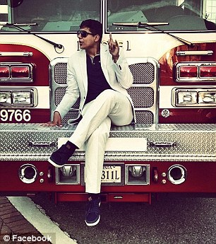 Alfonseca has said he recently moved to the area from California and that he is a rapper