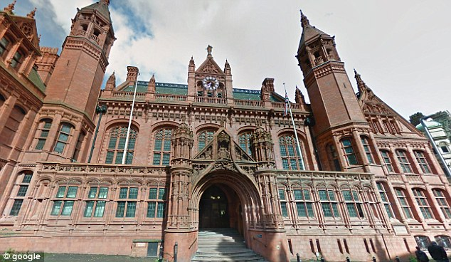 Suspended sentence: Lees admitted a charge of harassment at Birmingham Magistrates' Court (pictured). He was given a four month suspended sentence, ordered to do  unpaid work and pay compensation and costs