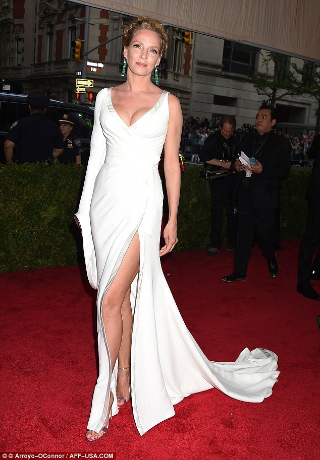 Goddess: On Monday night, she had made an exquisite red carpet appearance at The Metropolitan Museum of Art for the Met Gala 2015