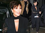 Mandatory Credit: Photo by Buzz Foto/REX/Shutterstock (5584977i) Kris Jenner Kendall & Kylie Collection launch event, New York, America - 08 Feb 2016