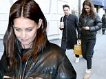 """07 Feb 2016 -New York - USA\n*EXCLUSIVE ALL ROUND PICTURES*\nKatie Holmes looks comfy as she attends the press junket for """"Touched with Fire"""" in New York City!\nBYLINE MUST READ : XPOSUREPHOTOS.COM\n*AVAILABLE FOR UK SALE ONLY*\n***UK CLIENTS - PICTURES CONTAINING CHILDREN PLEASE PIXELATE FACE PRIOR TO PUBLICATION ***\n*UK CLIENTS MUST CALL PRIOR TO TV OR ONLINE USAGE PLEASE TELEPHONE 0208 344 2007*"""