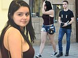 *** Fee of £150 applies for subscription clients to use images before 22.00 on 080216 *** EXCLUSIVE ALLROUNDERAriel Winter takes boyfriend Laurent Claude Gaudette for a haircut from Marci at Rudys Barbershop on Ventura Blvd Featuring: Ariel Winter, Laurent Claude Gaudette Where: Los Angeles, California, United States When: 08 Feb 2016 Credit: WENN.com