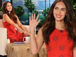 Guest star on Fox¿s ¿New Girl¿  MEGAN FOX joins ¿The Ellen DeGeneres Show¿ on Tuesday, February 9th and talks to Ellen about her role on the show and how turning 30 feels old. Plus, Megan loves Kimono¿s and Ellen gifts her with a customized blue one to add to her collection.