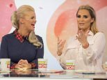 EDITORIAL USE ONLY. NO MERCHANDISING Mandatory Credit: Photo by Ken McKay/ITV/REX/Shutterstock (5584794g) Kerry Katona, Katie Price 'Loose Women' TV show, London, Britain - 08 Feb 2016