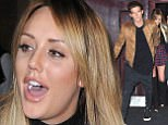 07 Feb 2016  - Newcastle  - UK *EXCLUSIVE ALL ROUND PICTURES AVAILABLE TO UK NEWSPAPERS ONLY** Gaz Beadle - Charlotte Crosby CBB winner Scotty T rejoins his Geordie Shore pals as he is straight back into filming with the cast. The cast who have currently been filming without him were out partying at Bijoux nightclub tonight. The crew are currently filming for a five year special which has seen nearly all of the old cast return to the Geordie Shore pad.  Holly Hagan and Kyle Christie were both seen crying and hugging inside the club, Charlotte and Gaz were spotted tashing on (kissing)! Chloe Ferry also gave Dan a kiss infornt of the cameras as they left the club. BYLINE MUST READ : XPOSUREPHOTOS.COM ***UK CLIENTS - PICTURES CONTAINING CHILDREN PLEASE PIXELATE FACE PRIOR TO PUBLICATION *** **UK CLIENTS MUST CALL PRIOR TO TV OR ONLINE USAGE PLEASE TELEPHONE  442083442007