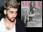 Mandatory Credit: Photo by Philip Vaughan/ACE Pictures/REX/Shutterstock (5510677m)\nZayn Malik\nZayn Malik and Gigi Hadid out and about, New York, America - 05 Jan 2016\nZayn Malik leaves the Ironworks building in Chelsea\n