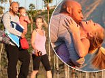 EXCLUSIVE: Kendra Wilkinson and Hank Baskett play happy families at the beach in Malibu.\n\nPictured: Kendra Wilkinson and Hank Baskett \nRef: SPL1222108  090216   EXCLUSIVE\nPicture by: Jacson / Splash News\n\nSplash News and Pictures\nLos Angeles: 310-821-2666\nNew York: 212-619-2666\nLondon: 870-934-2666\nphotodesk@splashnews.com\n