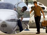 147687, EXCLUSIVE: Tom Cruise seen on the set of his movie 'Mena' for the first time since filming was suspended after two people were killed in an airplane crash during filming in September 2015. The plane Tom is pictured in had to be recreated to match the first plane which crashed. It has also been rumored this week that Tom Cruise might be set to return in his staring role for Top Gun 2 after Hollywood producer Jerry Bruckheimer mentioned talks with Tom on twitter. Tom can be seen here flying in an airplane after first taking a ride in a helicopter. New Orleans, Louisiana - Wednesday February 3, 2016. Photograph: © PacificCoastNews. Los Angeles Office: +1 310.822.0419 sales@pacificcoastnews.com FEE MUST BE AGREED PRIOR TO USAGE