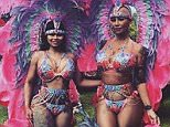 blac chyna and amber rose at carnival