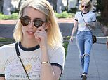 Emma Roberts seen shopping on Melrose Place\nFeaturing: Emma Roberts\nWhere: Los Angeles, California, United States\nWhen: 09 Feb 2016\nCredit: Michael Wright/WENN.com